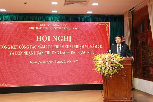 Kho bạc Nhà nước Tuyên Quang đón nhận Huân chương Lao động hạng Nhất ảnh 3