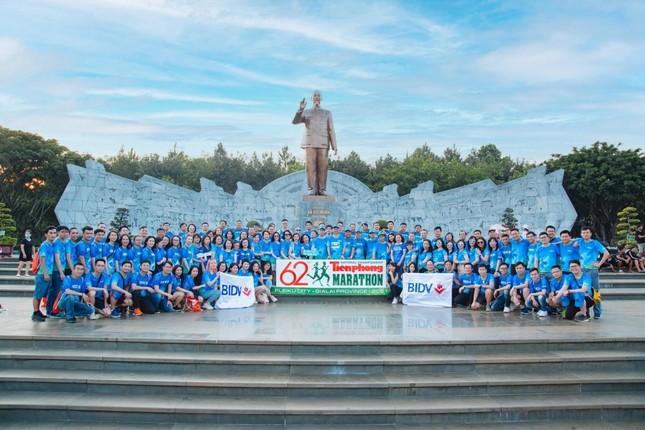 Màu áo BIDV nhuộm xanh giải vô địch quốc gia Marathon 2021 ảnh 1