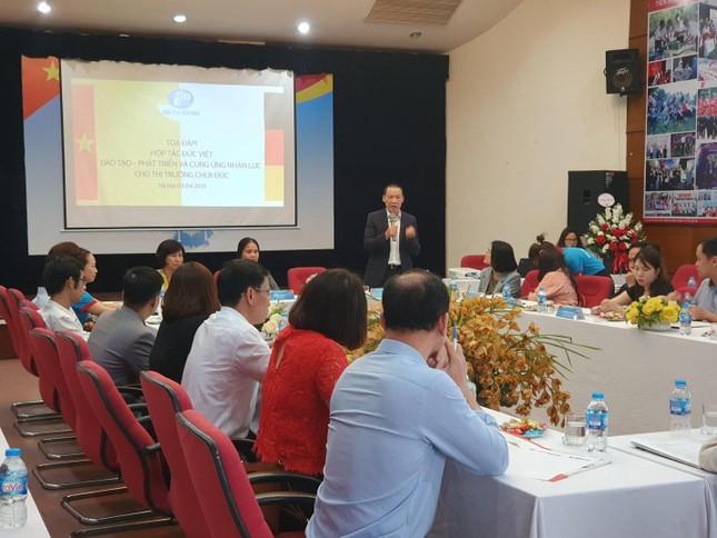 Tọa đàm hợp tác cùng phát triển trong lĩnh vực đào tạo du học nghề và định cư tại CHLB Đức ảnh 5