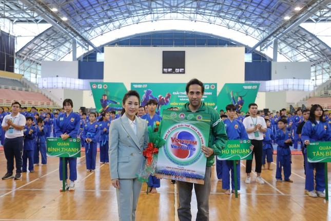 Hơn 1.500 học sinh tham gia Giải Hội khỏe Phù Đổng môn Vovinam Việt Võ Đạo ảnh 2