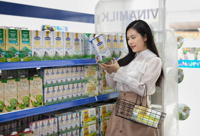 Vinamilk gia tăng trải nghiệm mua sắm cho người tiêu dùng ảnh 1