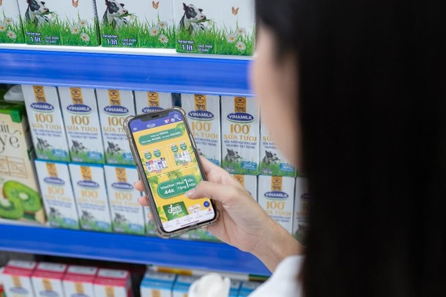 Vinamilk gia tăng trải nghiệm mua sắm cho người tiêu dùng ảnh 2