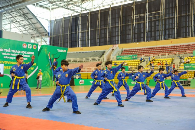 Hơn 1.500 học sinh tham gia Giải Hội khỏe Phù Đổng môn Vovinam Việt Võ Đạo ảnh 4