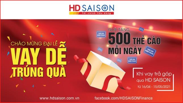 Mở quà mừng đại lễ cùng HD SAISON ảnh 1