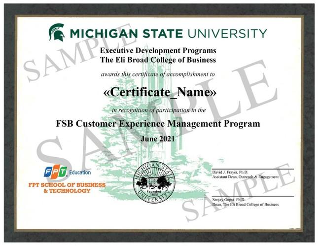 FSB tiên phong đào tạo CXM bằng Hybrid learning cùng chuyên gia hàng đầu Hoa Kỳ ảnh 4