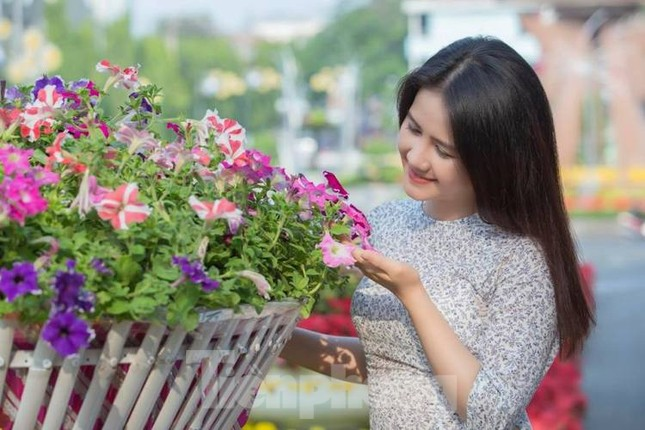 Mãn nhãn sắc Xuân trên đất Thủ ngày cận Tết ảnh 10