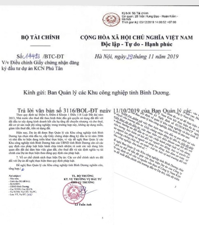 Chủ tịch tỉnh Bình Dương có ký duyệt dự án vượt thẩm quyền Thủ tướng? ảnh 2