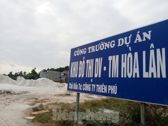 Cận cảnh khu đất khiến lãnh đạo Cty Thiên Phú bị bắt ảnh 1