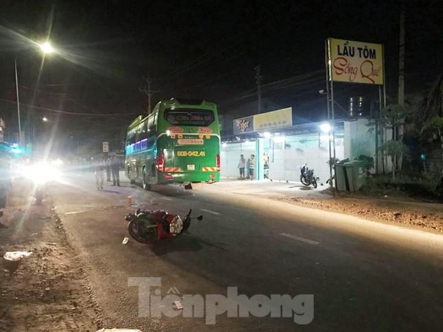 Truy tìm xe tải liên quan đến vụ tai nạn chết người rồi bỏ trốn ảnh 1