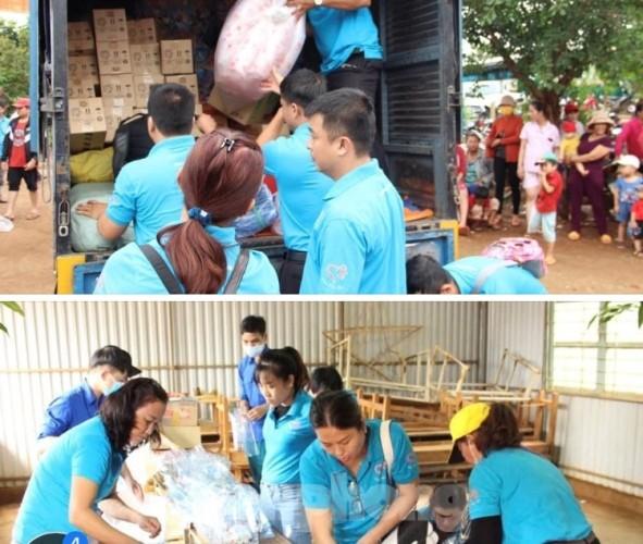 Tuổi trẻ Bình Phước mang quà trung thu đến trẻ em nghèo vùng biên giới ảnh 3