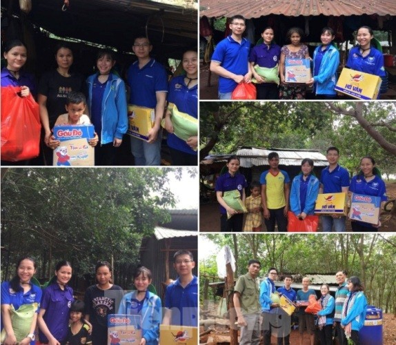 Tuổi trẻ Bình Phước mang quà trung thu đến trẻ em nghèo vùng biên giới ảnh 2