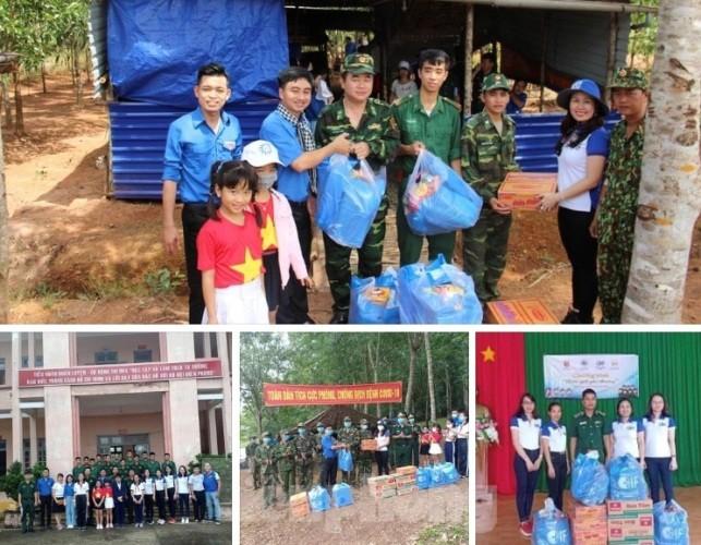 Tuổi trẻ Bình Phước mang quà trung thu đến trẻ em nghèo vùng biên giới ảnh 5