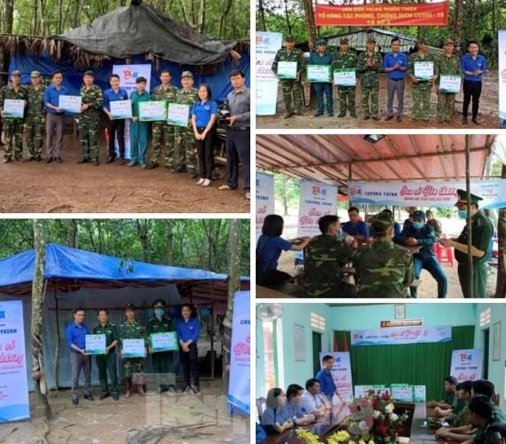 Tuổi trẻ Bình Phước tiếp sức cho học sinh, chiến sĩ vùng biên giới ảnh 4