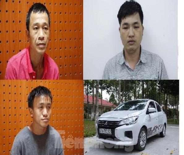 Nhóm đối tượng dùng ô tô đi trộm liên tỉnh ảnh 1