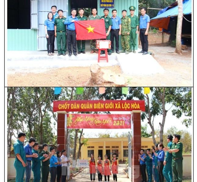 Tuổi trẻ Bình Phước hỗ trợ dân vùng biên, tiếp nước, vá xe cho người vể quê ảnh 2