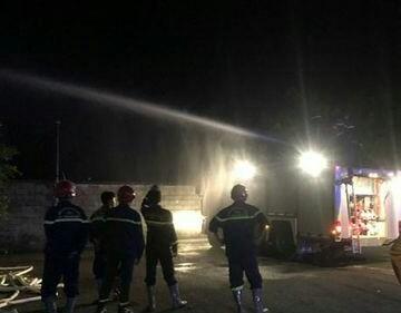 Vườn cây rộng 10.000m2 ở Bình Phước bị lửa thiêu rụi trong đêm ảnh 3