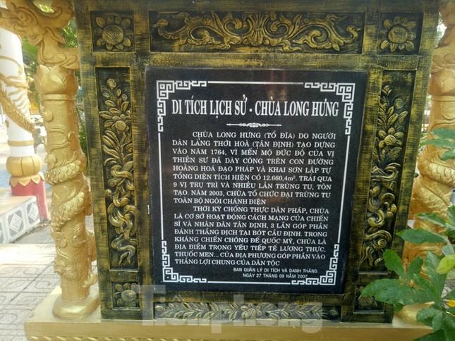 Bí ẩn ngôi chùa tưởng nhớ vị thiền sư chịu hàng ngàn con đỉa hút máu giúp dân canh tác ảnh 8
