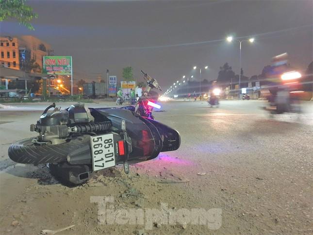 Điều tra vụ một sĩ quan quân đội bị xe máy tông tử vong gần trụ sở ảnh 1