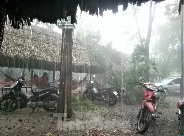 Bình Dương, Bình Phước mưa lớn làm hàng chục căn nhà bay mái, cột điện đổ sập ảnh 7