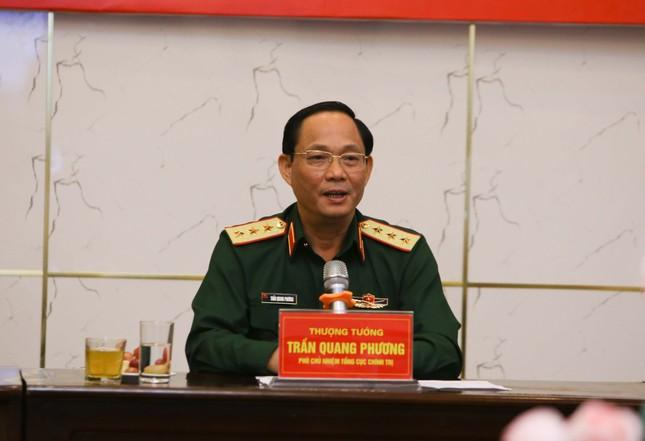 Gặp mặt con của cán bộ, chiến sĩ phục vụ trong Quân đội dự Đại hội Cháu ngoan Bác Hồ ảnh 1