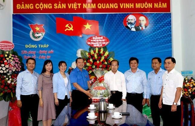 Bí thư Trung ương Đoàn dự kỷ niệm 90 năm thành lập Đoàn tại Đồng Tháp ảnh 6