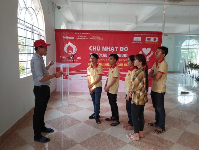 Trường đại học Nam Cần Thơ sẵn sàng cho ngày hội Chủ nhật Đỏ ảnh 1