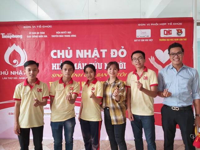 Trường đại học Nam Cần Thơ sẵn sàng cho ngày hội Chủ nhật Đỏ ảnh 2