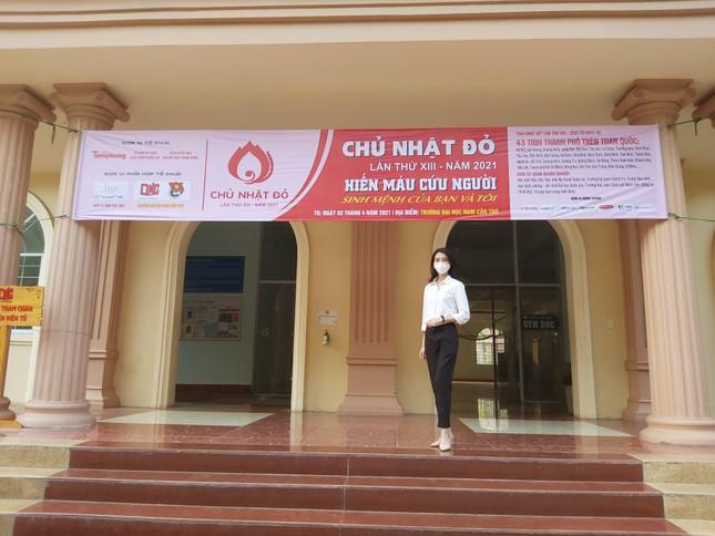 Trường đại học Nam Cần Thơ sẵn sàng cho ngày hội Chủ nhật Đỏ ảnh 5