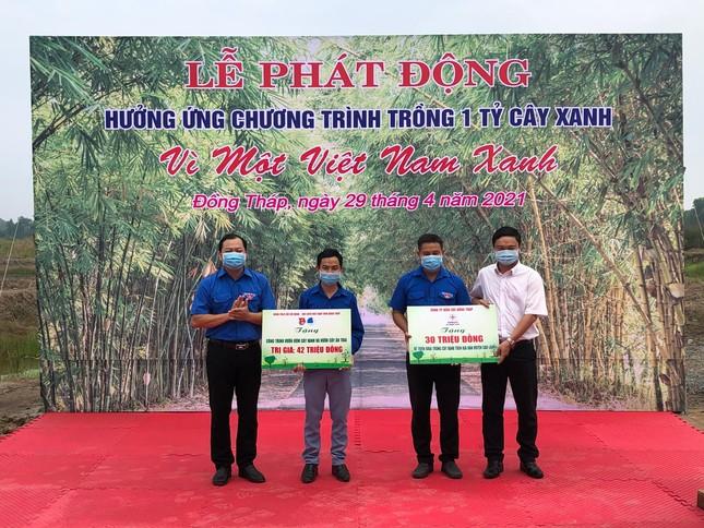 Đồng Tháp phát động chương trình trồng 1 tỷ cây xanh - Vì một Việt Nam xanh ảnh 1
