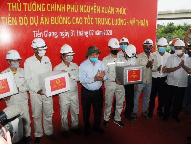 Thủ tướng kiểm tra dự án cao tốc Trung Lương – Mỹ Thuận ảnh 2