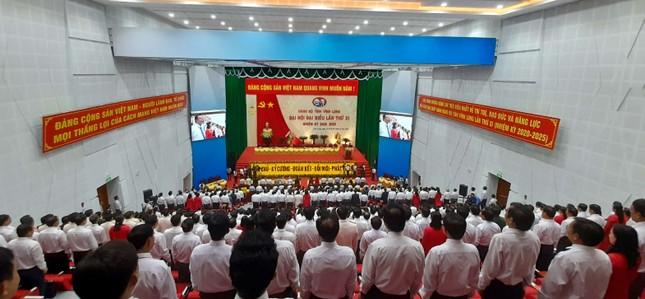 Đại tướng Ngô Xuân Lịch: 'Ban Chấp hành Đảng bộ Vĩnh Long phải là tập thể vững mạnh' ảnh 3