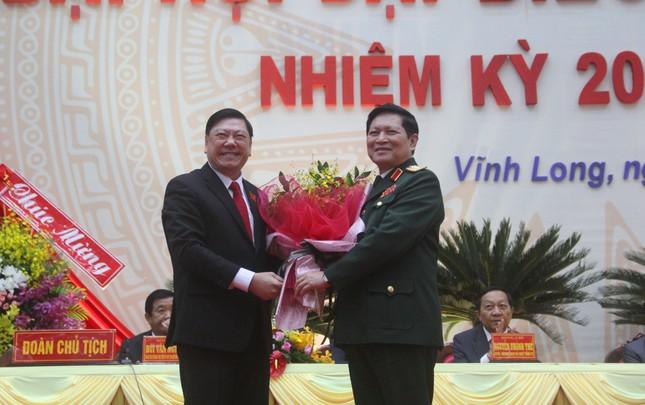 Đại tướng Ngô Xuân Lịch: 'Ban Chấp hành Đảng bộ Vĩnh Long phải là tập thể vững mạnh' ảnh 2
