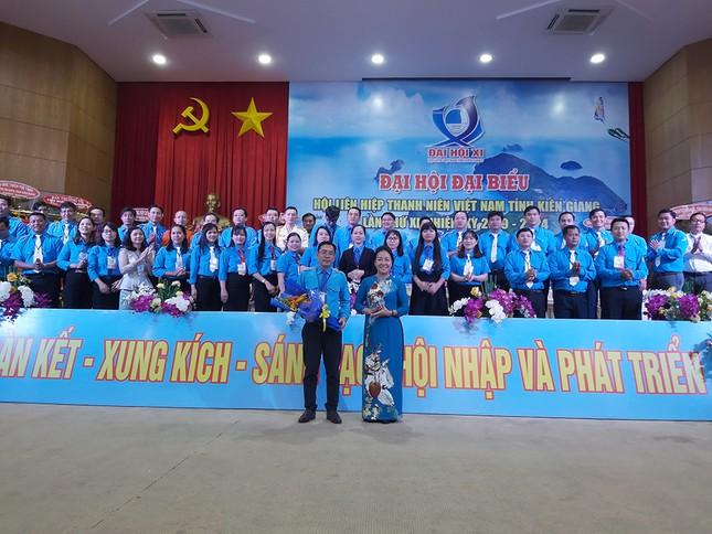 Anh Lâm Quốc Toàn tái đắc cử Chủ tịch Hội LHTN Việt Nam tỉnh Kiên Giang ảnh 1