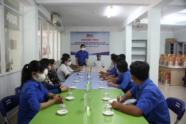 Tỉnh đoàn An Giang chúc Tết Chôl Chnăm Thmây cán bộ đoàn dân tộc Khmer ảnh 2