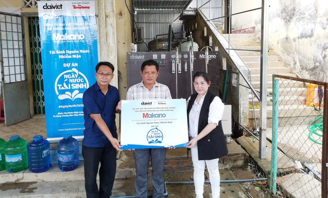 Tặng 3 hệ thống máy lọc nước nhiễm mặn Makano tại Cà Mau, Kiên Giang ảnh 7