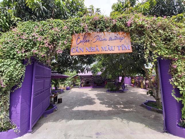 Căn nhà màu tím độc đáo ở Cần Thơ hút khách đến 'check-in' ảnh 18