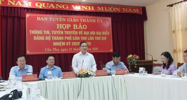 347 đại biểu chính thức dự Đại hội Đảng bộ thành phố Cần Thơ ảnh 1