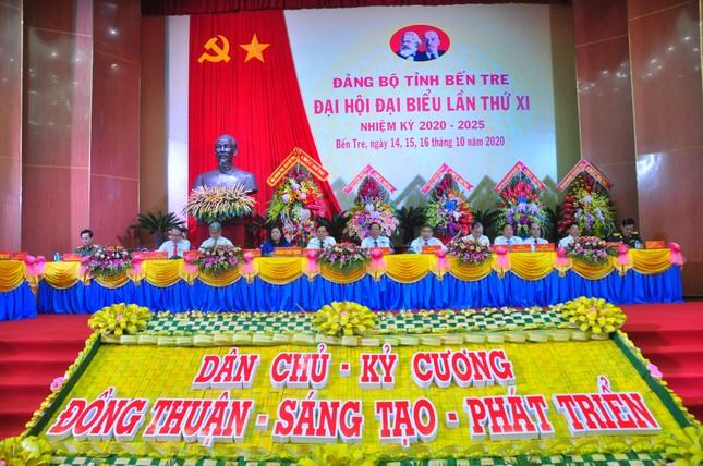 Cơ cấu nhân sự Ban Chấp hành Đảng bộ Bến Tre khóa mới ra sao? ảnh 1