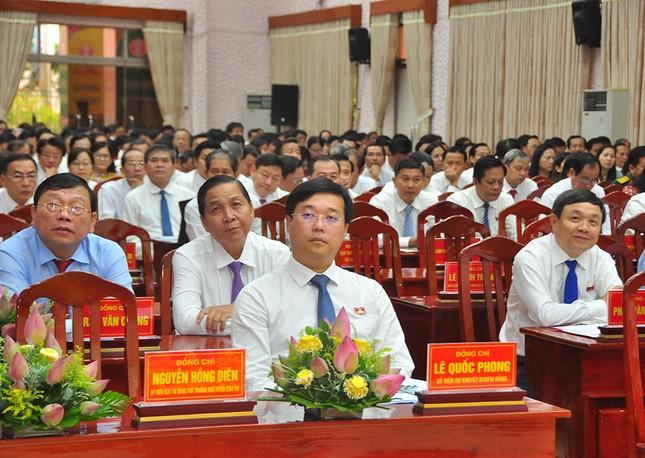 Giới thiệu ông Lê Quốc Phong để bầu làm Bí thư Tỉnh ủy Đồng Tháp ảnh 1
