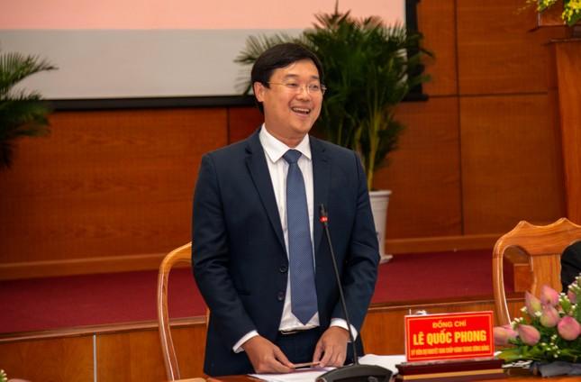 Nguyên Bí thư thứ nhất TƯ Đoàn Lê Quốc Phong được bầu làm Bí thư Tỉnh ủy Đồng Tháp  ảnh 1