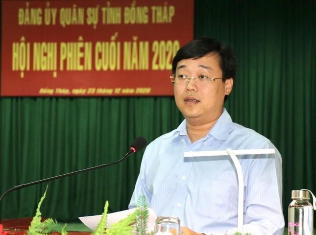 Bí thư Tỉnh ủy Đồng Tháp Lê Quốc Phong giữ thêm chức vụ mới ảnh 1