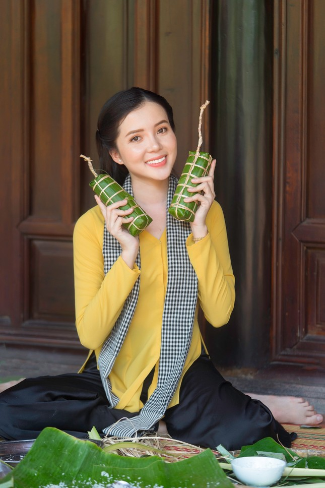 Hoa khôi Huỳnh Thúy Vi: 'Vị ngọt miền Tây' từ tình yêu quê hương  ảnh 3