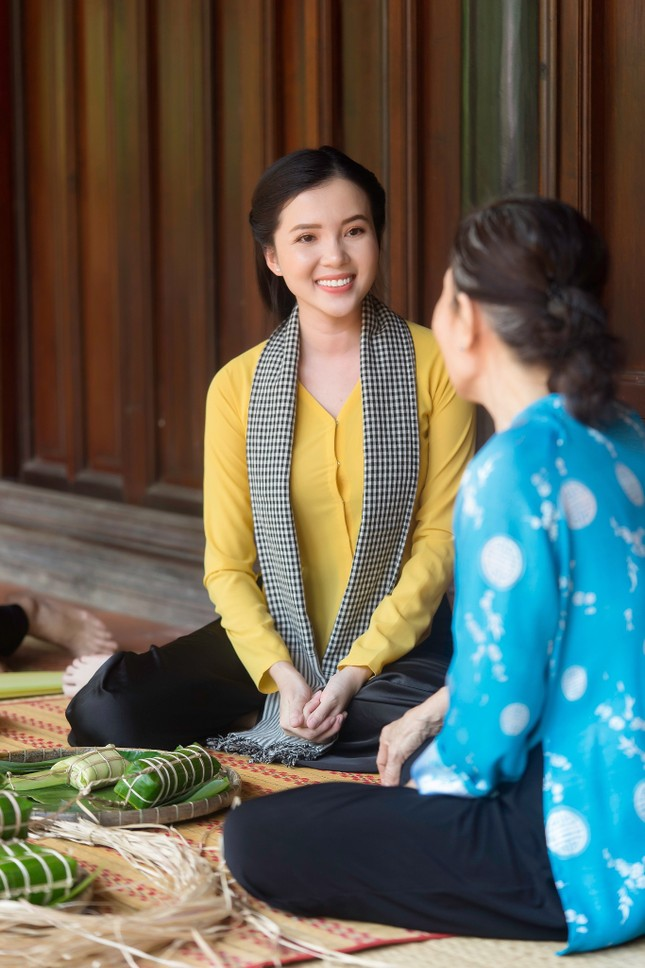 Hoa khôi Huỳnh Thúy Vi: 'Vị ngọt miền Tây' từ tình yêu quê hương  ảnh 8