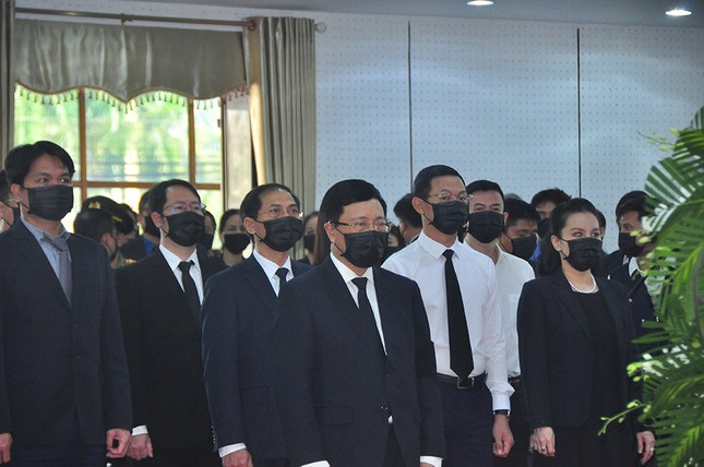 Lãnh đạo Đảng, Nhà nước viếng nguyên Phó Thủ tướng Trương Vĩnh Trọng ảnh 5