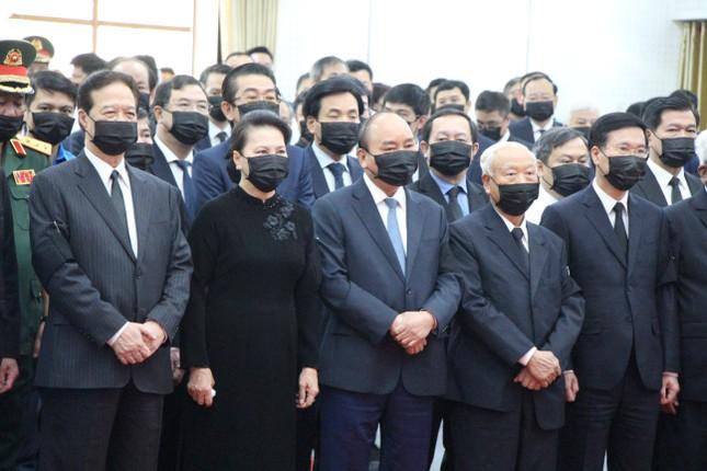 Xúc động dòng sổ tang tiễn biệt nguyên Phó Thủ tướng Trương Vĩnh Trọng ảnh 1