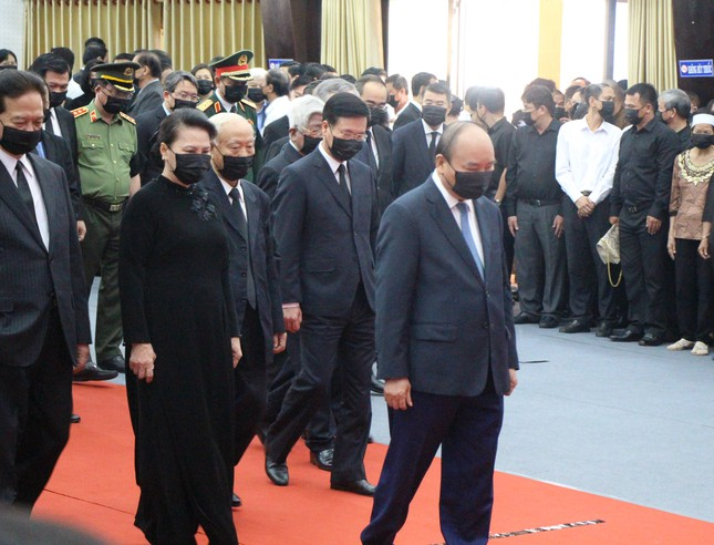 Xúc động dòng sổ tang tiễn biệt nguyên Phó Thủ tướng Trương Vĩnh Trọng ảnh 4