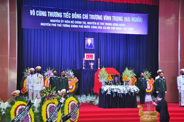Xúc động dòng sổ tang tiễn biệt nguyên Phó Thủ tướng Trương Vĩnh Trọng ảnh 5