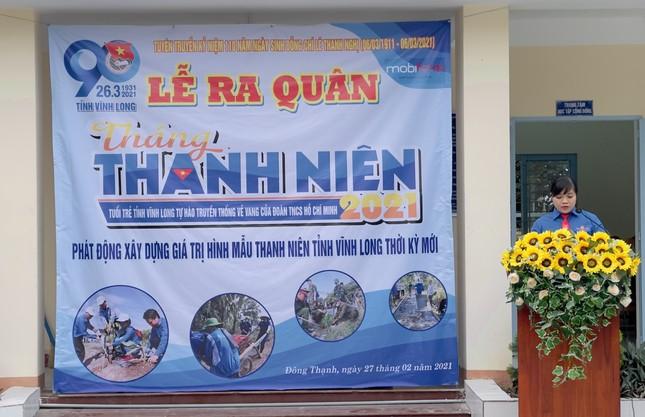 Vĩnh Long sôi nổi ra quân Tháng Thanh niên 2021  ảnh 2