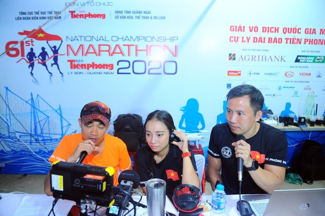 Tiền Phong Marathon: Khi bình luận viên cũng là runner 'xịn' ảnh 1