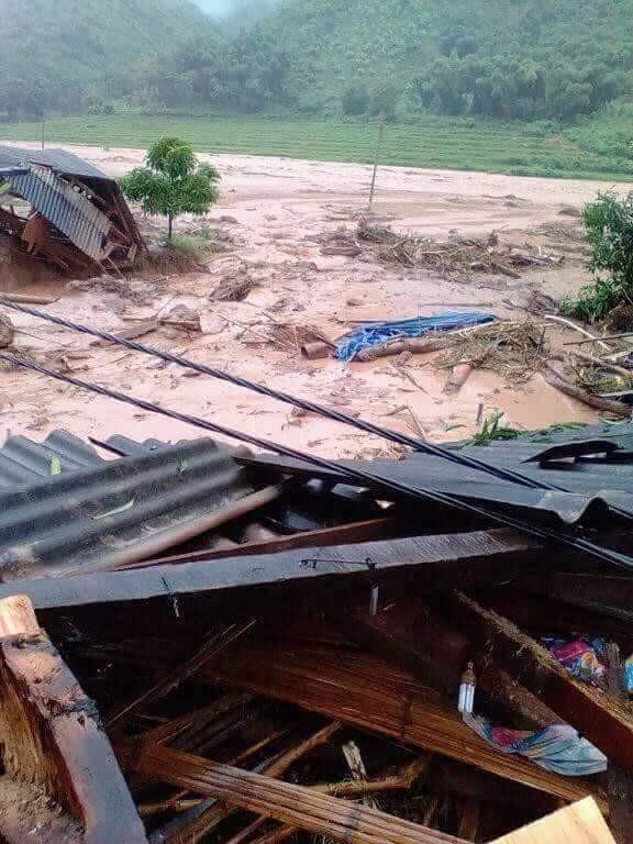 Hình ảnh mưa lũ tàn phá khủng khiếp ở Mường Lát ảnh 10